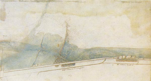 Leonardo da vinci's plan to regulate the river arno