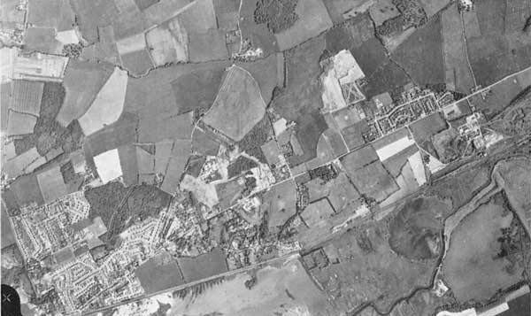 Aerial photograph of top right quarter of item 6.1